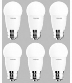 Pack 6x Mini Globo Led E27 6w Fría