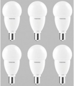 Pack 6x Mini Globo Led E14 6w Fría